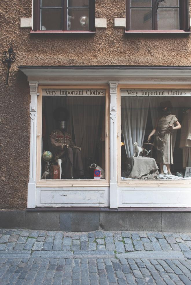Stockholm - Second hand shop