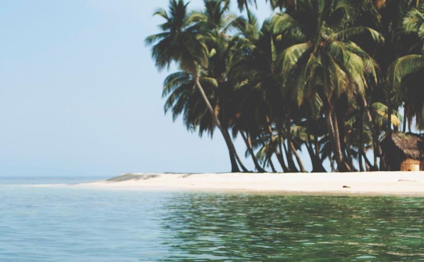 Paradise in Panama.