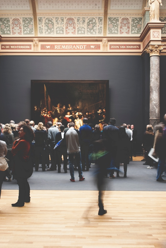 Visit the Rijksmuseum in Amsterdam - striking art in one of the Netherlands' most famous museums | https://roosendansontour.com/