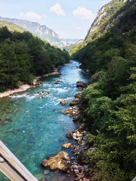 Rafting the Tara river - white water adventures on the most famous river in Montenegro | https://roosendansontour.com/