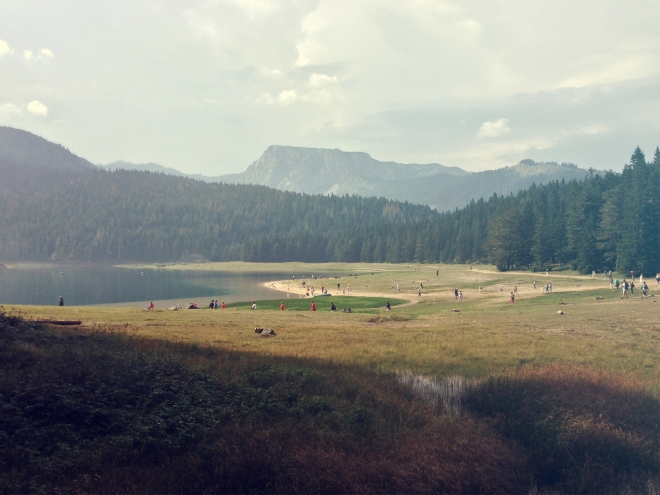 Sunshine after the rain in Durmitor National Park in Montenegro